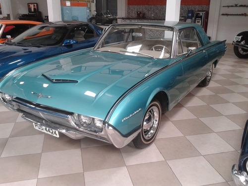 ford thunderbird 1961 - verde - v 8