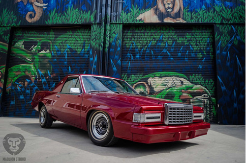 ford thunderbird 1981 hot rod - lowrider