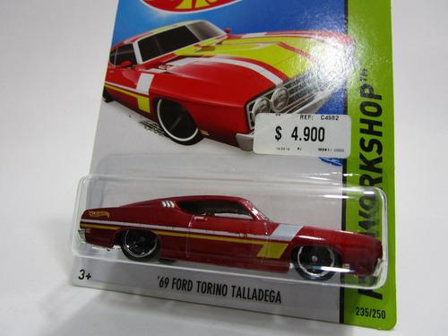 ford torino talladega 69 hot wheels t6