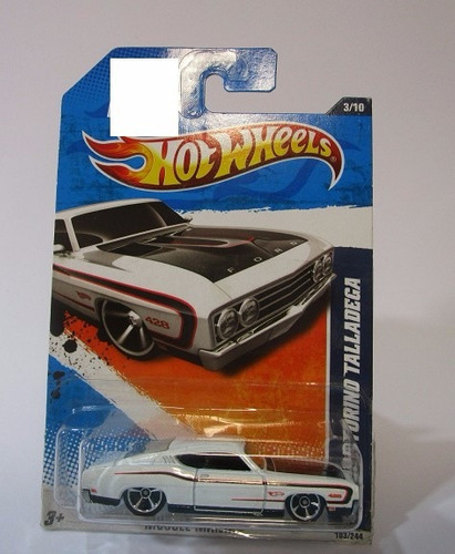 ford torino talladega escala 1/64 coleccion hot wheels b1596
