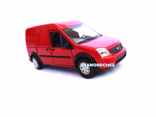 ford transit 1/36 welly carroceria de metal 11 cm largo