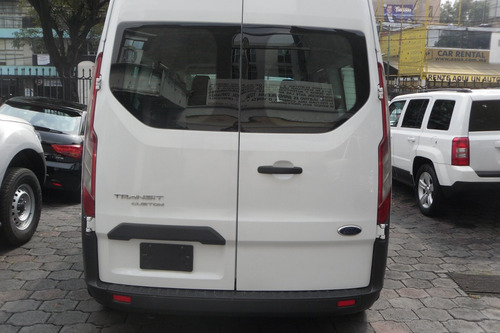 ford transit 2014 2.2, 9 pasajeros larga custom mt seminueva