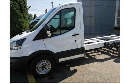 ford transit 2018 2p chasis mediana 350m l4/2.2/t diesel ma