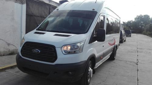ford transit 2.2 diésel bus 18 pasajeros mt 2015