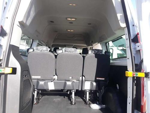 ford transit 2.2 pasajeros larga techo alto custom mt 2020