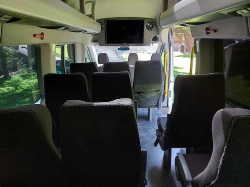 ford transit 2.2 van larga techo alto aa custom mt 2018