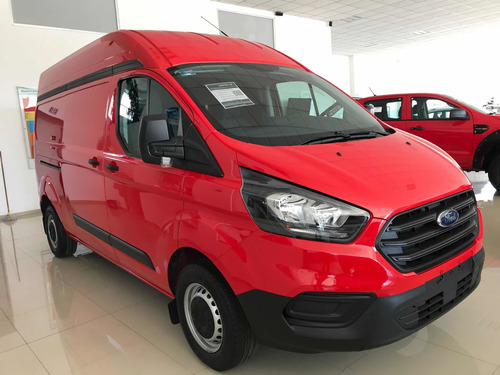 ford transit 2.2 van larga techo alto aa custom mt 2020