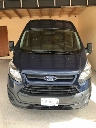 ford transit 2.2 van larga techo alto custom mt 2017