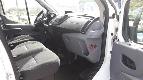 ford transit 2.2d minibus 2015 l/nue usado permuto-financio