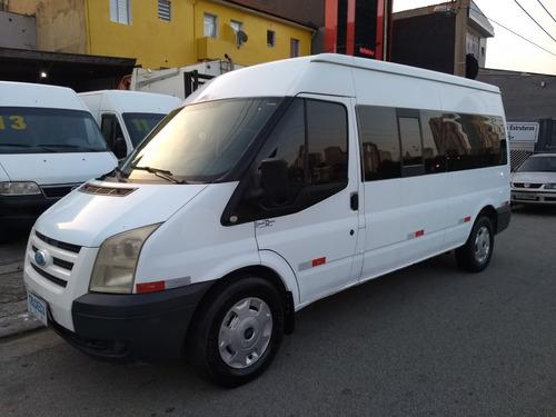 ford transit 2.4 longa 16 lugares ano 2010 r$ 47.300,00