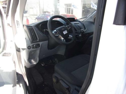 ford transit diesel 2.2l furgon 4x2 mediano 0km blanco