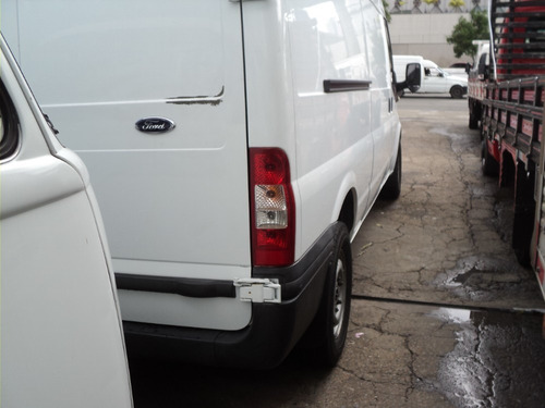 ford transit  furgao 2013 + ar condicionado + completa