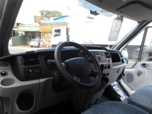 ford transit furgão longo 2.4 turbo, fmr0675