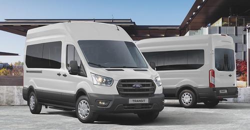 ford transit minibus 17+1 0km my20 patentada, disponible