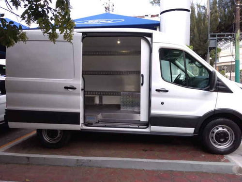 ford transit van mediana techo alto gas/gasolina