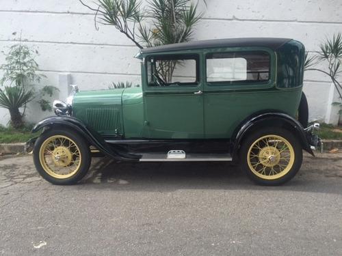 ford tudor 1929 placa preta