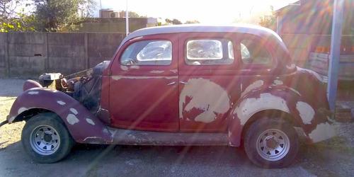 ford v8 año 1936 fordor de luxe sedán para restaurar.