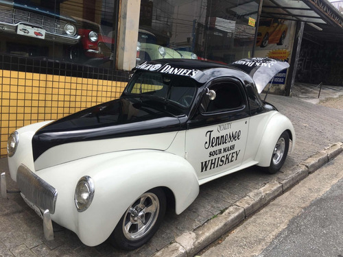 ford willys coupe 1942 hotrood tudor charutinho chevy 34 -32
