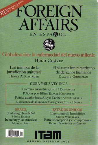foreign affairs español-otoño 2001-politica internacional