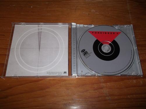 foreigner - 4 cd imp ed 2002 remastered mdisk