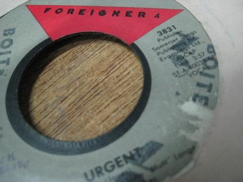 foreigner 4 - urgent
