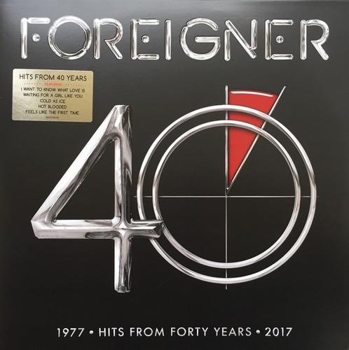 foreigner - 40 vinilo doble nuevo y sellado obivinilos