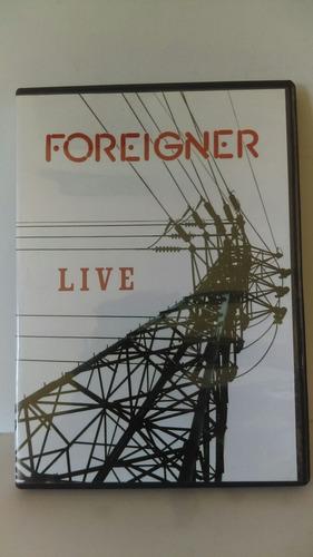 foreigner live dvd