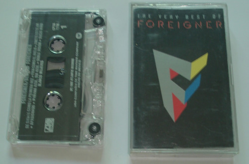 foreigner - the very best of foreigner cassette 1992
