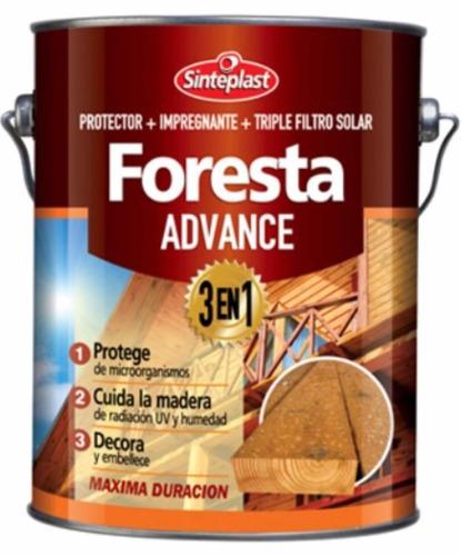 foresta advance sinteplast protector madera int/ext 1l brill