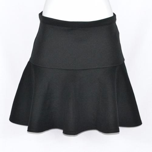 forever 21 falda midi negra m msrp 300