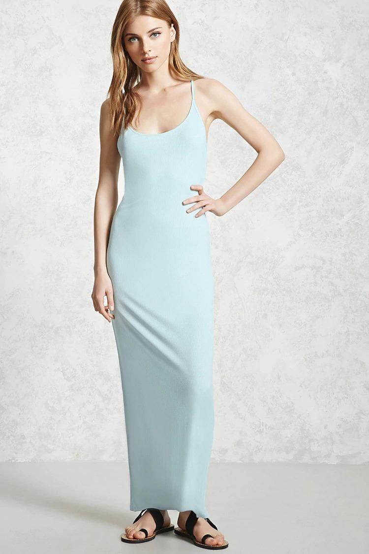 Vestido azul cielo forever 21