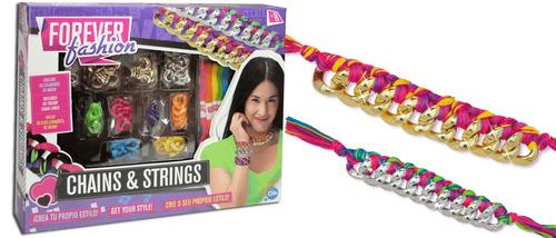 forever fashion set pulseras y cadenas