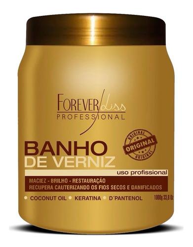 forever liss alto impacto + banho verniz + banho pérola 1kg