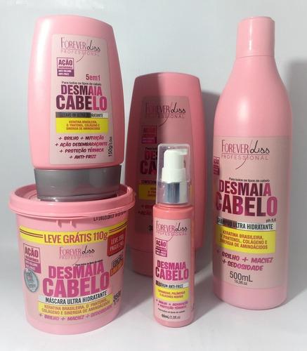 forever liss desmaia cabelo ultra hidratante  5 produto