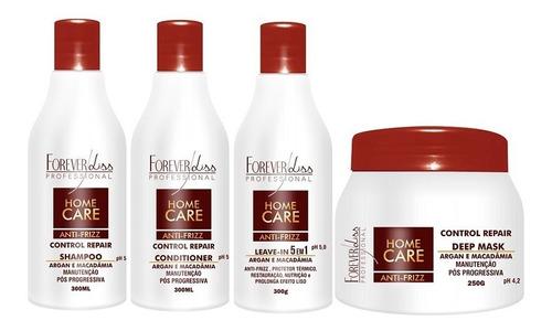 forever liss kit home care pós progressiva - 4 itens
