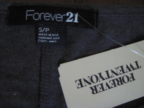 forever21 usa remera tribal flecos ts