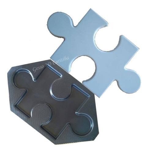 forma abs 2mm para gesso3d/cimentício modelo quebra-cabeça