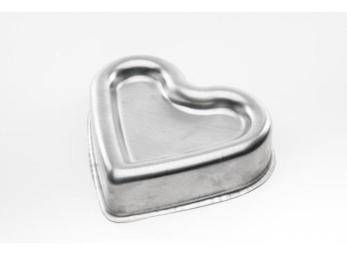 forma ballerine coração (fundo rebaixado) 18x20x4,5cm