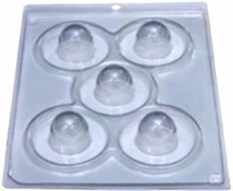 forma bola com película de silicone / 1 forma