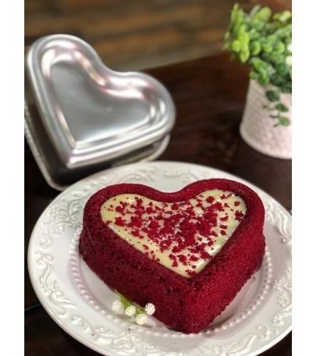 forma bolo piscina coração alumínio (fundo rebaixado)