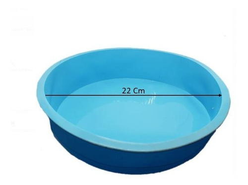 forma bolo silicone redonda 300º - cozinha assadeira torta