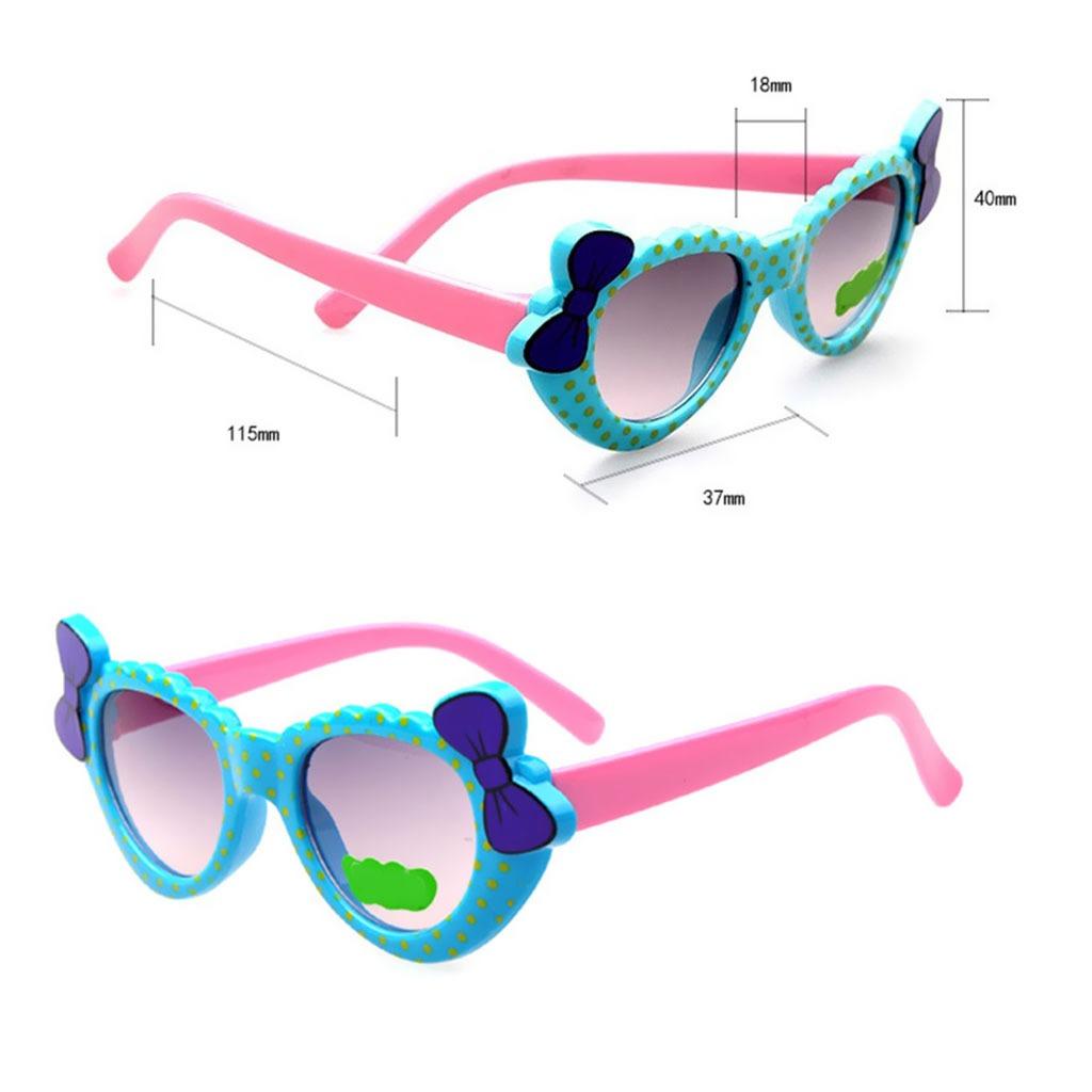 3706b66802 forma corazón dibujos animados bebé niñas niños gafas de sol. Cargando zoom.