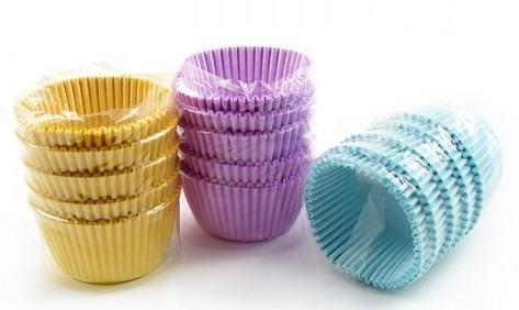 forma cupcakes amanteigadas cores 54 un. ultrafest forneável