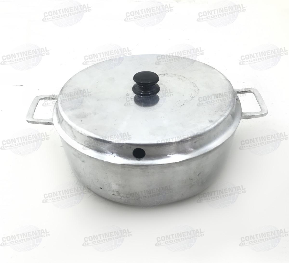 Forma De Bolo Alumínio Fundido Prática Grossa Diâmetro 24