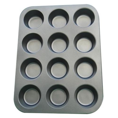 forma de cupcake 12 cavidades antiaderente teflon