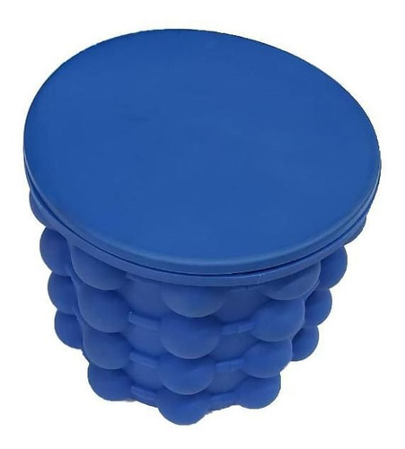 forma de gelo em silicone e cooler de bebidas cube mak