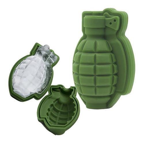 forma de gelo granada silicone para drinks divertidos whisky