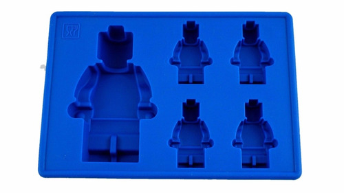 forma de gelo ou chocolate bonecos lego - feita de silicone