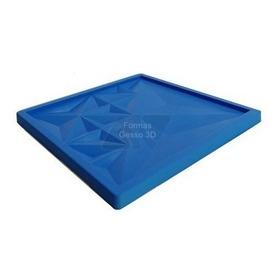 Forma De Gesso 3d De Silicone Tipo Denali 39x39 Revestimento