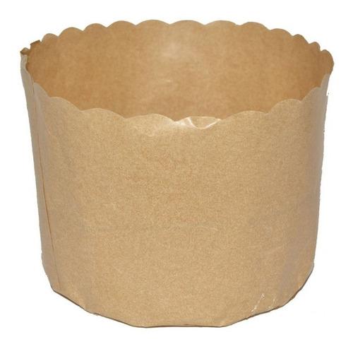 forma de papel para panetone 500g - marca petropel c/100